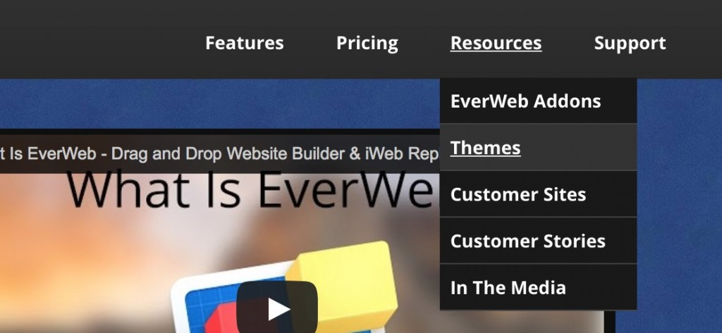 everweb-navigation-menu