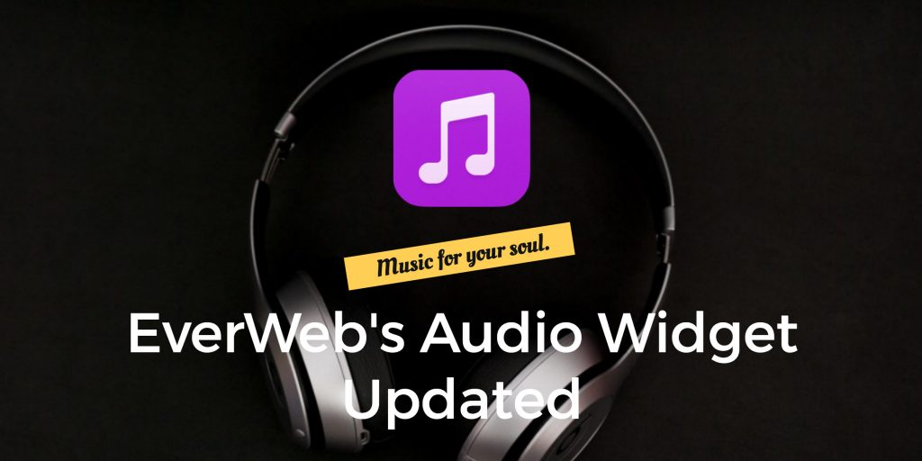EverWeb's Audio Widget Updated