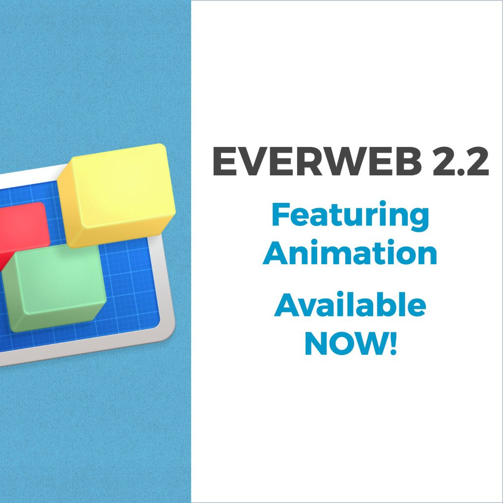 EverWeb version 2.2 with Animation Effects