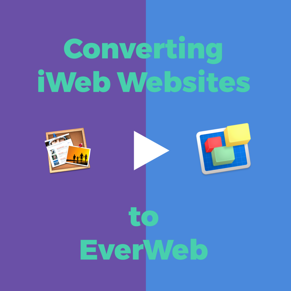 Converting iWeb Websites to EverWeb