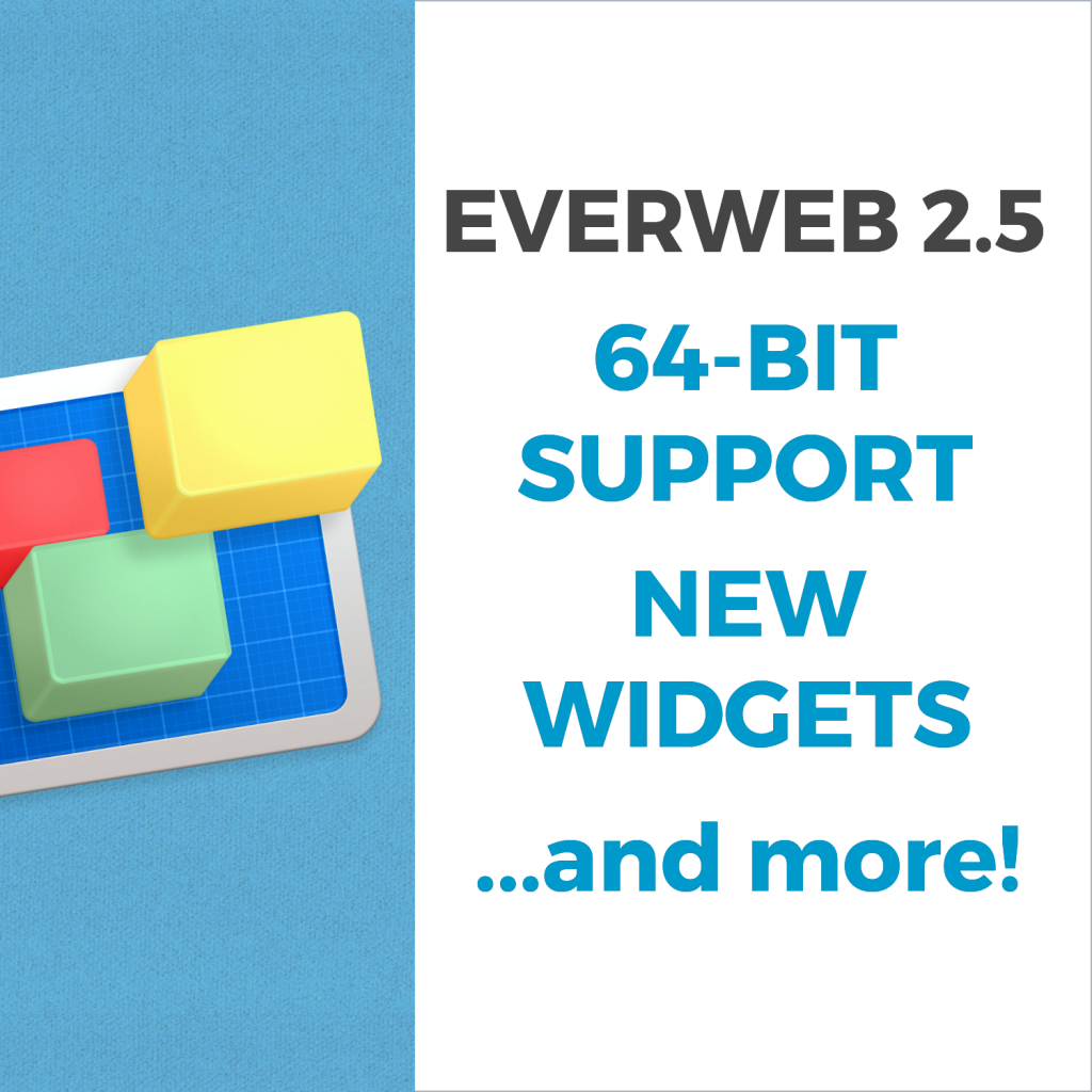 EverWeb 2.5 with 64-Bit Support
