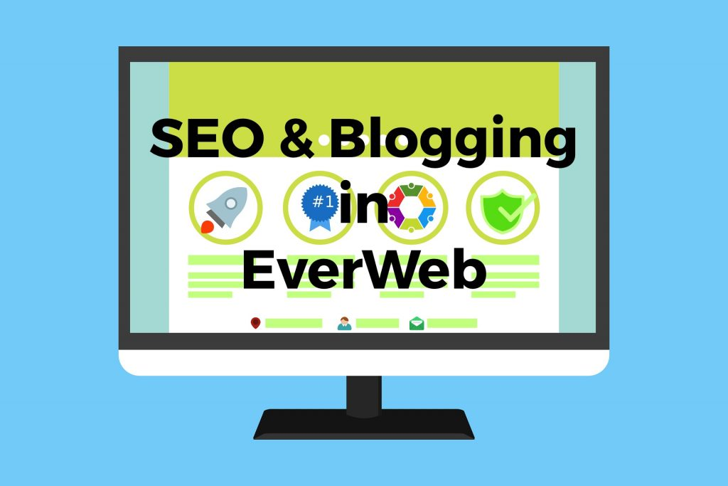 SEO and Blogging in EverWeb