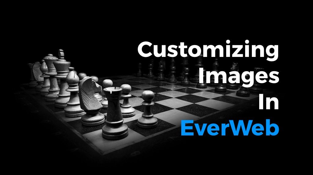 Customizing Images in EverWeb