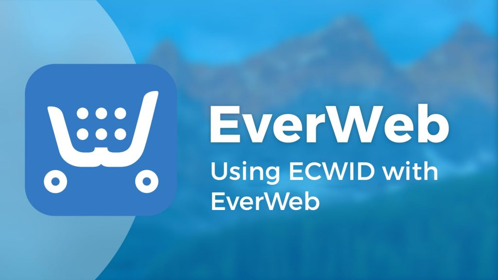 Using ECWID with EverWeb