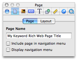 Add Custom Title Tags To Your iWeb Website