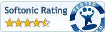 Excellent Softonic Rating